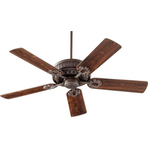 Quorum Lighting 35525 Empress - Ceiling Fan in Traditional style - 52 inches wide by 14.37 inches high