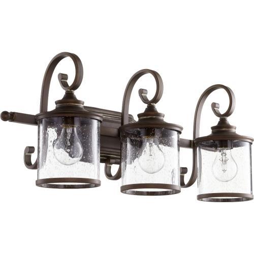 Quorum Lighting 5073-3 San Miguel - Three Light Bath Vanity