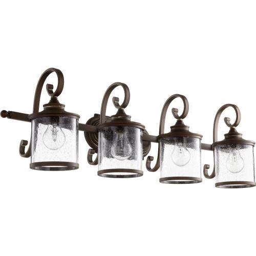 Quorum Lighting 5073-4 San Miguel - Four Light Bath Vanity