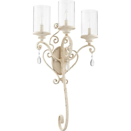 Quorum Lighting 5473-3 San Miguel - Three Light Wall Sconce