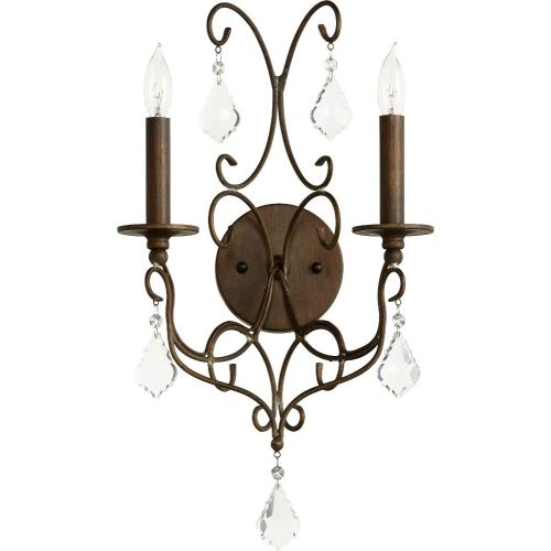 Quorum Lighting 5605-2 Ariel - Two Light Wall Sconce