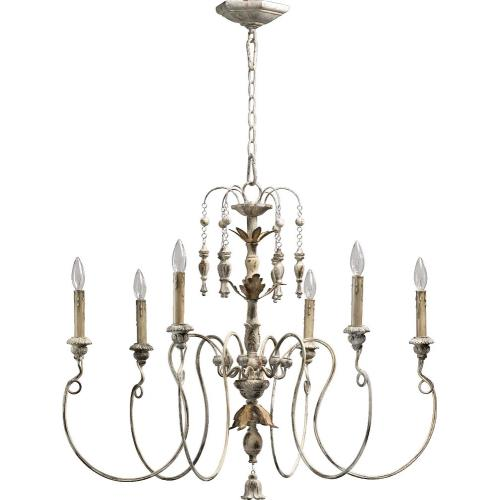 Quorum Lighting 6006-6-70 Salento - Six Light Chandelier