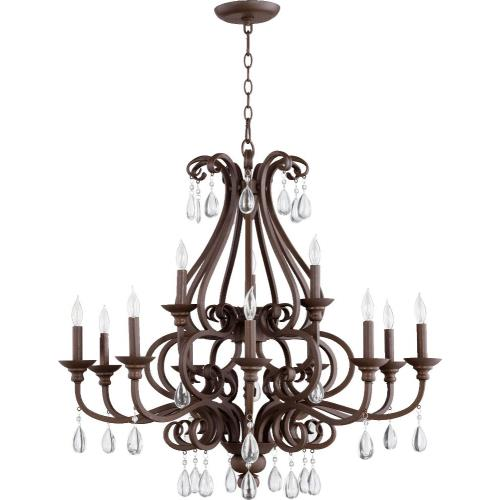Quorum Lighting 6013-12-86 Anders - Twelve Light 2-Tier Chandelier