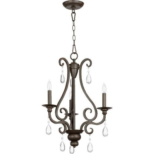 Quorum Lighting 6013-3-86 Anders - Three Light Chandelier