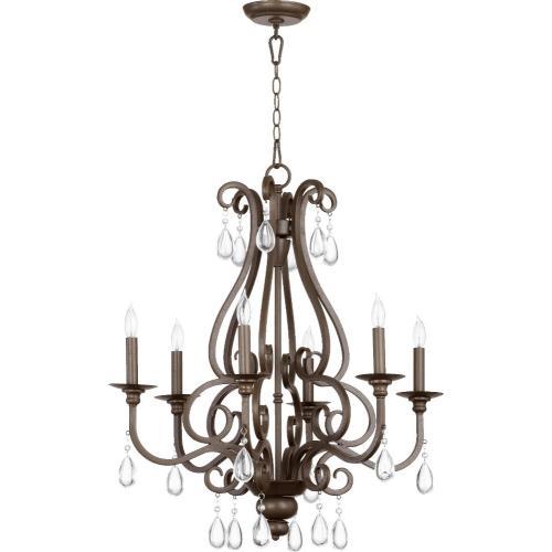 Quorum Lighting 6013-6-86 Anders - Six Light Chandelier