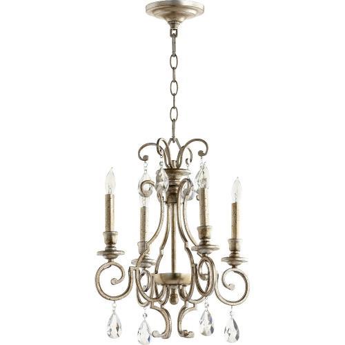 Quorum Lighting 6014-4 Ansley - Four Light Chandelier
