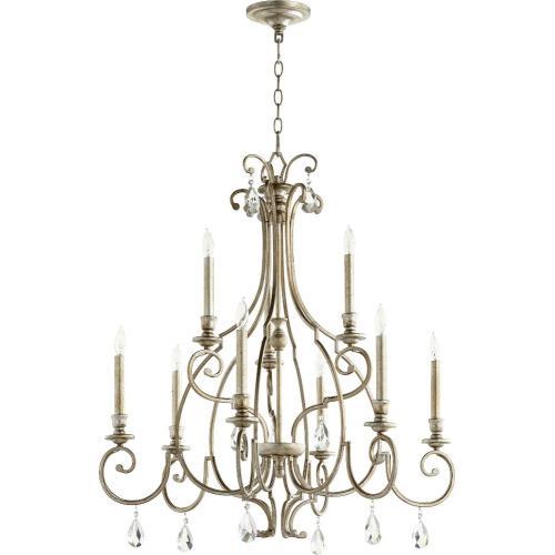 Quorum Lighting 6014-9 Ansley - Nine Light Chandelier