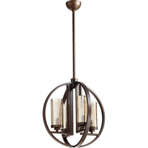 Quorum Lighting 603-4 Julian - 4 Light Chandelier in Transitional style - 19 inches wide by 20.25 inches high