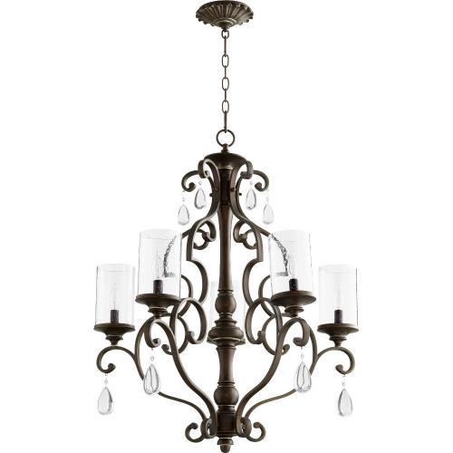Quorum Lighting 6073-5 San Miguel - Five Light Chandelier