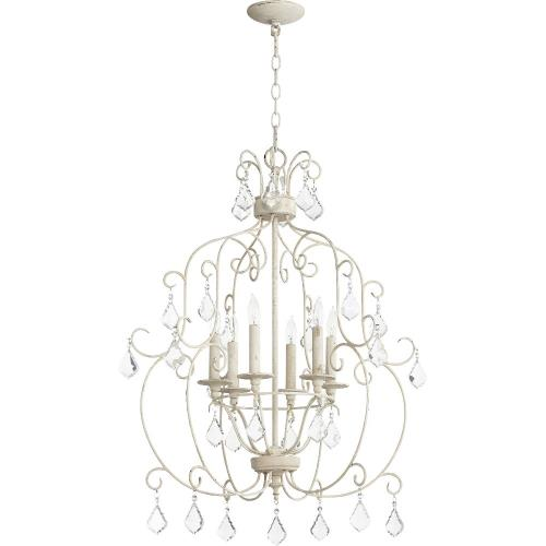 Quorum Lighting 6105-6 Ariel - Six Light Chandelier