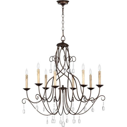Quorum Lighting 6116-8-86 Cilia - Eight Light Chandelier