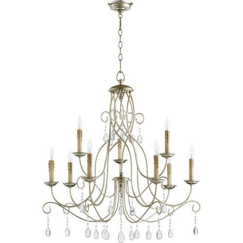 Quorum Lighting 6116-9-60 Cilia - Nine Light Chandelier