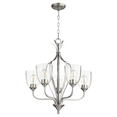 Quorum Lighting 6127-5 Jardin - 5 Light Chandelier in Quorum Home Collection style - 24 inches wide by 25.5 inches high