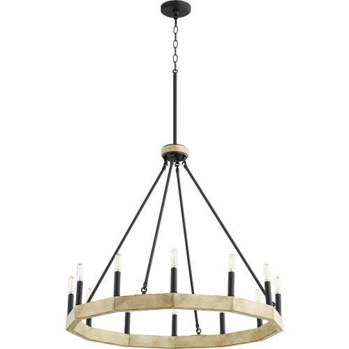 Quorum Lighting 6189-12-69 Alpine - Twelve Light Chandelier