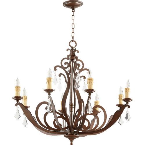 Quorum Lighting 619-8-39 Montgomery - Eight Light Chandelier