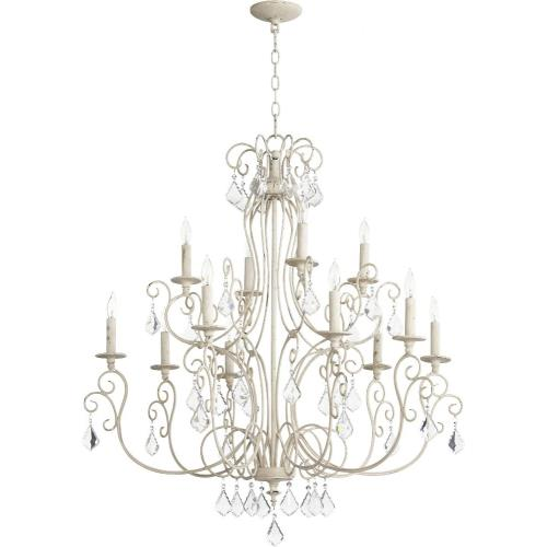 Quorum Lighting 6205-12 Ariel - Twelve Light 2-Tier Chandelier
