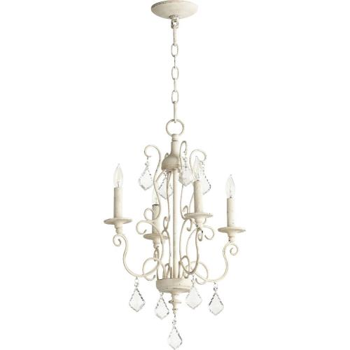 Quorum Lighting 6205-4-70 Ariel - Four Light Chandelier