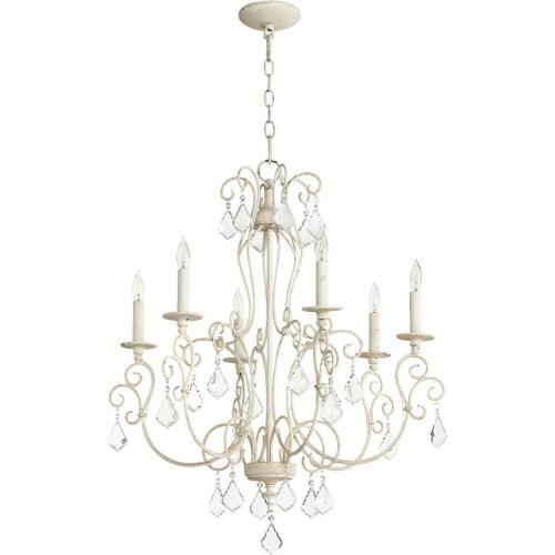 Quorum Lighting 6205-6 Ariel - Six Light Chandelier