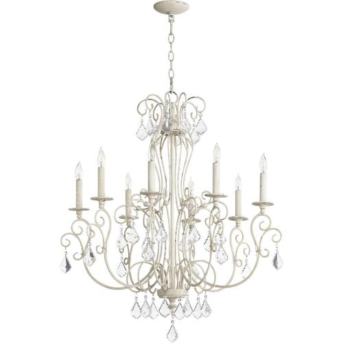 Quorum Lighting 6205-8 Ariel - Eight Light Chandelier