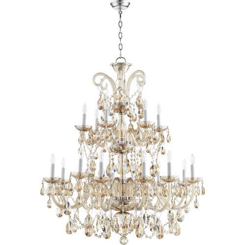 Quorum Lighting 630-18-614 Bohemian Katerina - Eighteen Light Chandelier