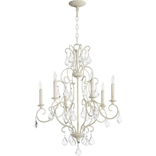 Quorum Lighting 6305-6-70 Ariel - Six Light Chandelier