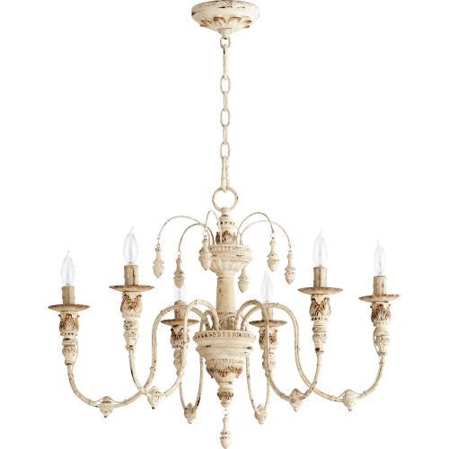 Quorum Lighting 6316-6-70 Salento - Six Light Chandelier