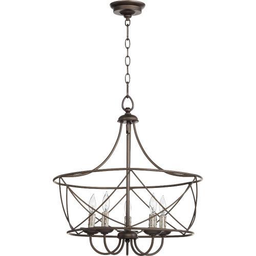 Quorum Lighting 6416-5-86 Cilia - Five Light Pendant