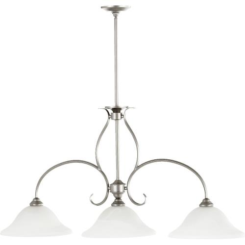 Quorum Lighting 6510-3 Spencer - 3 Light Island in Quorum Home Collection style - 13 inches wide by 22.25 inches high