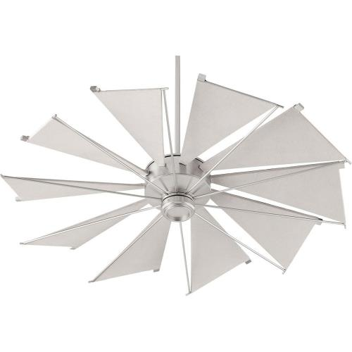 Quorum Lighting 65210 Mykonos - Ceiling Fan in Soft Contemporary style - 52 inches wide by 18.97 inches high