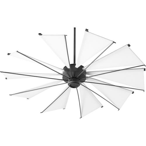 Quorum Lighting 66010 Mykonos - Ceiling Fan in Soft Contemporary style - 60 inches wide by 20.97 inches high