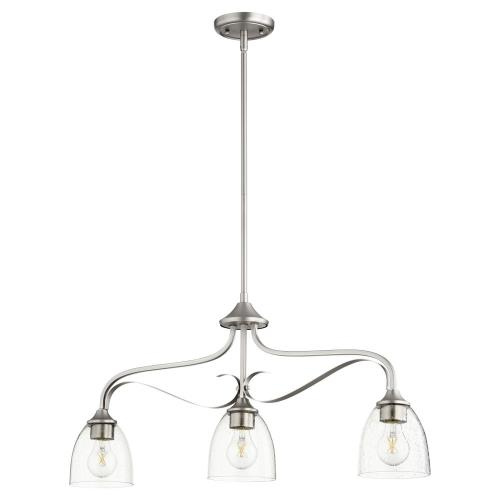 Quorum Lighting 6627-3 Jardin - 3 Light Island in Quorum Home Collection style - 5.75 inches wide by 15 inches high