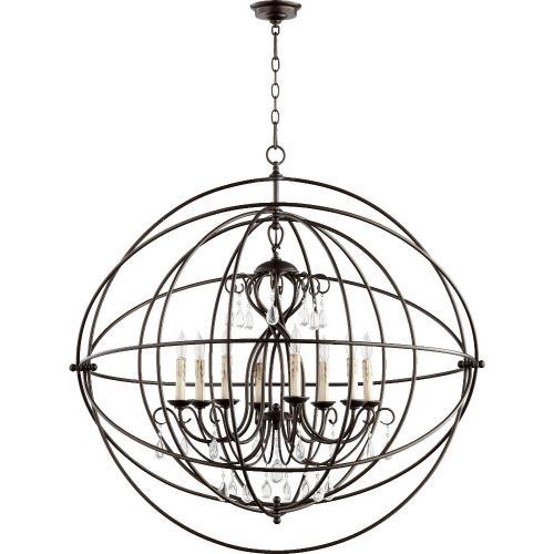 Quorum Lighting 6716-8-86 Cilia - Eight Light Chandelier
