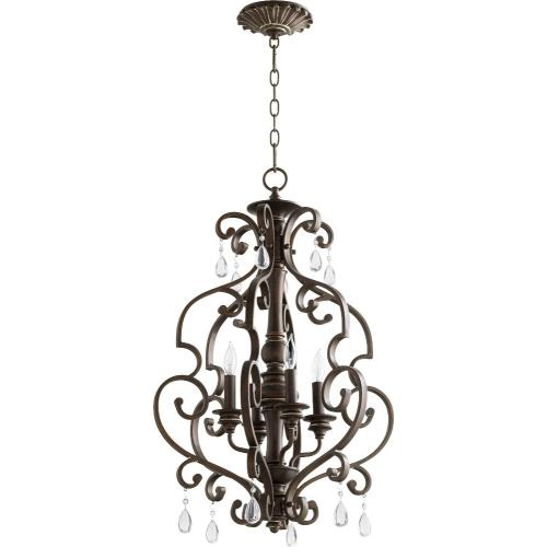 Quorum Lighting 6873-4 San Miguel - Four Light Entry Pendant