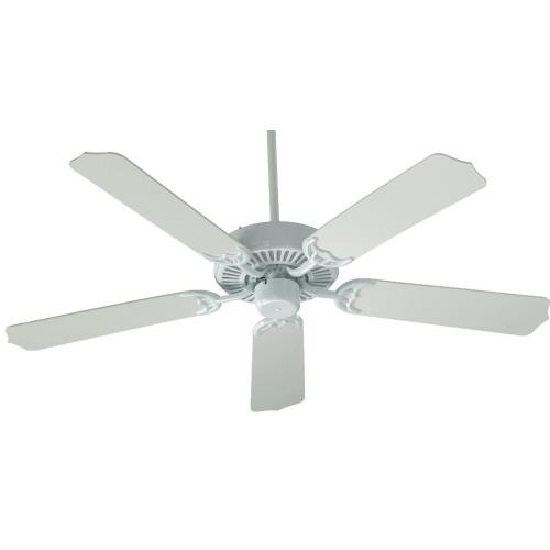 Quorum Lighting 77425 Capri - Ceiling Fan in Quorum Home Collection style - 42 inches wide by 11.02 inches high