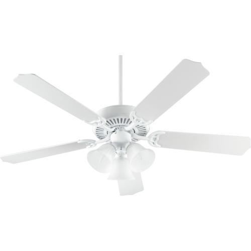 Quorum Lighting 77525-1606 Capri VI - 52 Inch Ceiling Fan with Light Kit