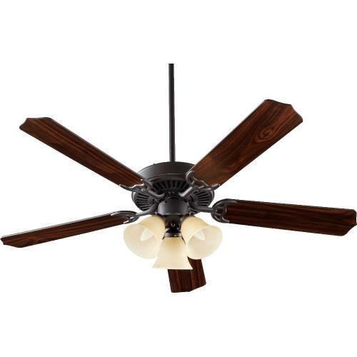 Quorum Lighting 77525-1795 Capri VI - 52 Inch Ceiling Fan with Light Kit