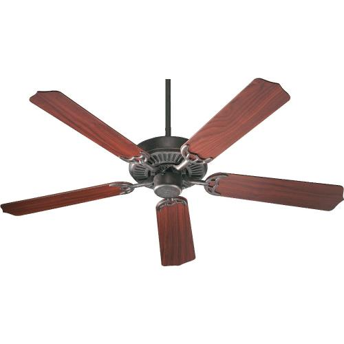 Quorum Lighting 77525 Capri I - Ceiling Fan in Traditional style - 52 inches wide by 11.3 inches high