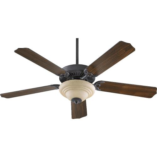 Quorum Lighting 77525-9 Capri III - Ceiling Fan in Quorum Home Collection style - 52 inches wide by 17.09 inches high
