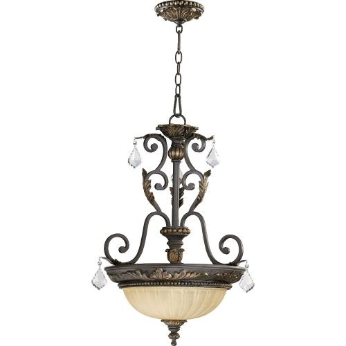 Quorum Lighting 8057-3-44 Rio Salado - Three Light Pendant