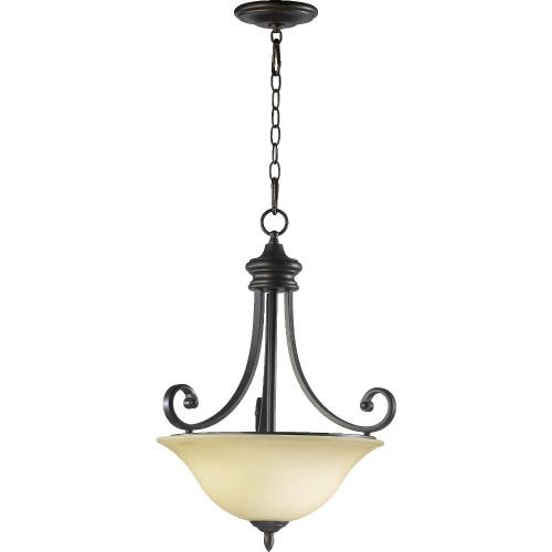 Quorum Lighting 8154-3-86 Bryant - Three Light Pendant