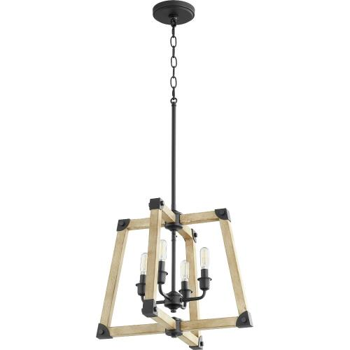 Quorum Lighting 8189-4-69 Alpine - Four Light Pendant
