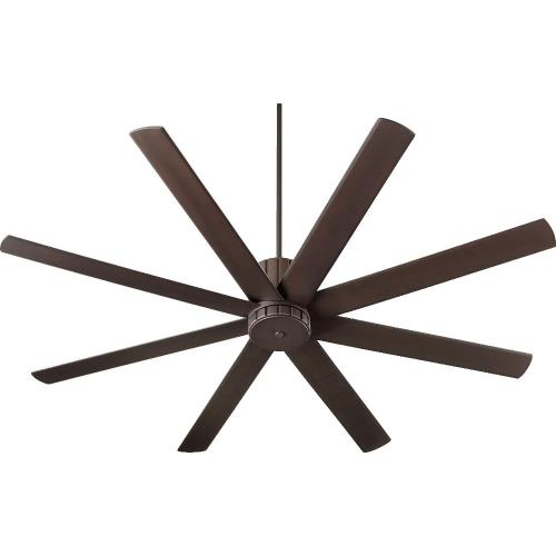 Quorum Lighting 96728 Proxima - Ceiling Fan in Soft Contemporary style - 72 inches wide by 17.5 inches high