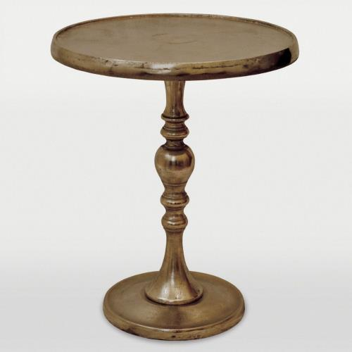 Renwil Inc TA033 Romina Nickel - 17 Inch Small Accent Table