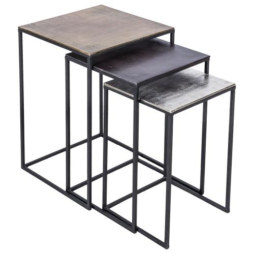 Renwil Inc TA174 Threefold - 24 Inch Accent Table (Set of 3)