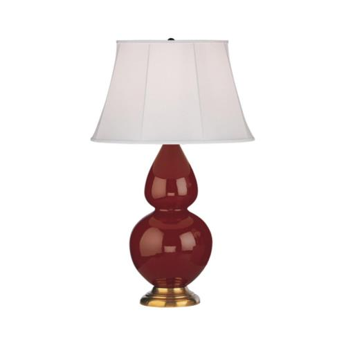 Robert Abbey Lighting 1667 Double Gourd - One Light Table Lamp
