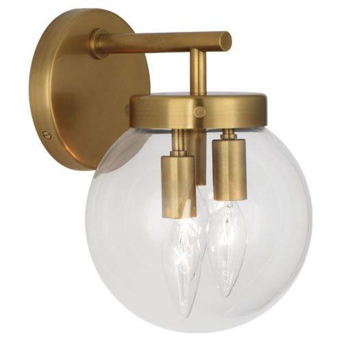 Robert Abbey Lighting 2432 Zoltar - Three Light Wall Sconce