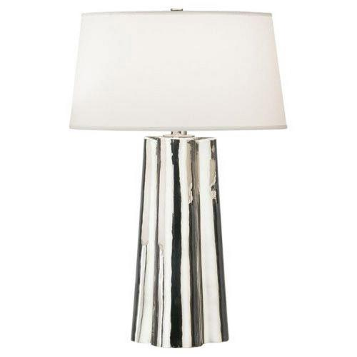 Robert Abbey Lighting 435 David Easton Wavy - One Light Table Lamp