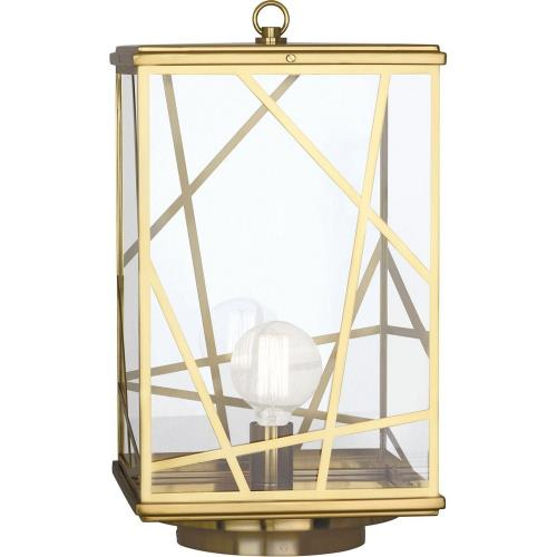 Robert Abbey Lighting 53BB Michael Berman Bond - One Light Post Lantern