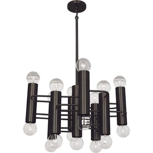 Robert Abbey Lighting 9030 Jonathan Adler Milano - Seventeen Light Pendant