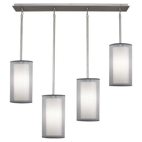 Robert Abbey Lighting S2155 Saturnia - Four Light Linear Pendant